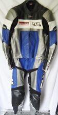 FLM Torrent Lederkombi 2 tlg  Gr. 48 blau pas. R1, Honda, Gsx-R o. a. TOP