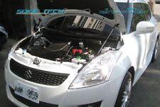 12-14 Suzuki Swift Sport ZC32S Silver Carbon Strut Lift Hood Shock Damper