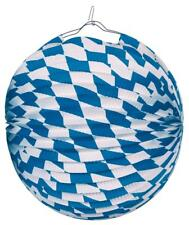 Oktoberfest Wies'n Spass warm up Deko Lampion bayrische Raute