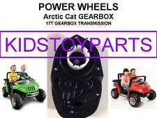 One 17T POWER WHEELS ARCTIC CAT GEARBOXES GEN 3 UPGRADE