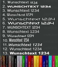 (214)2x 10cm WunschtextAufkleber Klebeschrift SchriftzugDomain Beschriftung
