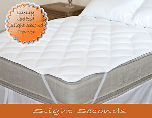 Premium Luxury Quilted Mattress Topper Reviver - Made in the UK!