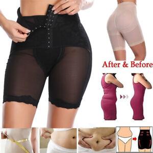 Women High Waist Tummy Control Body Shaper Panty Butt Lifter Short Thigh Slimmer