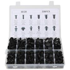 330pcs Car Body Retainer Push Type Pin Rivet Trim Clip Panel Moulding Assortment (Fits: Renault)