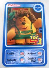 CARTE COLLECTOR DISNEY PIXAR AUCHAN 2010 NUMERO 94 MR LABROSSE TOY STORY 3