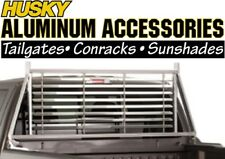 Husky 22151 Aluminum Rear Window Louvered Headache Rack 1999-2016 Ford SuperDuty