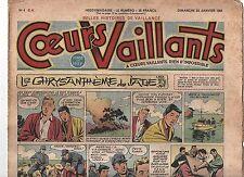 COEURS VAILLANTS 1955 n°21  numéro du 22 mai 1955.