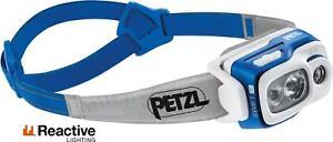 Petzl Swift RL 900 Lumen Blue / Fishing Headlamp