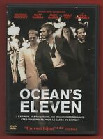 DVD - OCEAN'S ELEVEN con George Clooney, Matt Damon, Andy Garcia, Brad Pitt
