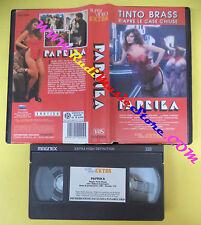 VHS film PAPRIKA 1991 Tinto Brass Debora Caprioglio SUPER VIDEO (F130) no dvd*