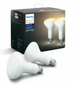 Philips Hue White Ambience BR30 2200 - 6500 K Warm to cool 2 pack bulbs E26