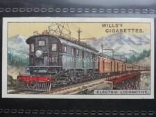 No.43 ELECTRIC LOCOMOTIVE, USA Engineering Wonders W.D.& H.O. Wills 1927
