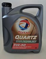 5W 30 Total Quartz 9000 Future NFC 5 Liter Motoröl Ford Jaguar Land Rover 5w-30