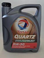 5W 30 Total Quartz 9000 Future NFC 5 Liter Motor?l Ford Jaguar Land Rover 5w-30
