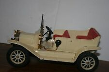 VERY NICE LARGE 1950s/60s TIN FRICTION POWERED  1917 MODEL T FORD TOURING CAR
