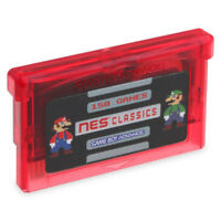 150 Games in 1 GBA NES Classics Game Boy Advance Multicart save Zelda Mario