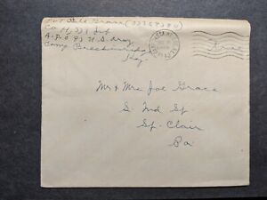 APO 83 CAMP BRECKINRIDGE, KY 1943 WWII Army Cover 331st Infantry Soldier's Mail