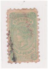 (K117-199) 1901 VIC 1/2d green QVIC (CZ)