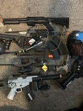 Used airsoft gun lot
