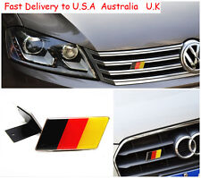 German 3D Metal Auto Car Truck Front Grille Badge Fender Emblems Decal Germany