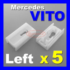 MERCEDES VITO W638 V CLASS FRONT WINDSCREEN A PILLAR LEFT SIDE TRIM CLIPS 638 X5