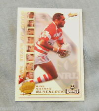 2001  RUGBY LEAGUE PLAYER TEAM OF THE YEAR CARD TY2  NATHAN BLACKLOCK, DRAGONS