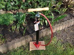 Unverwüstbare Jumbo Standpumpe Luftpumpe für Hollandrad für DV Gazelle Batavus