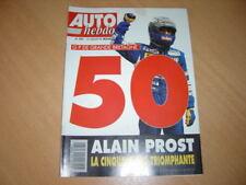 Auto hebdo N°889 BMW 325i Cab . 50éme victoire de Prost