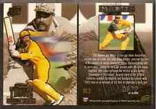 FUTERA 1996 WORLD CUP CRICKET DAVID BOON Australia TRIBUTE TC2. #3086 of 4000