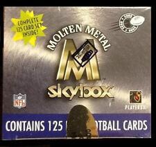 2000 SKYBOX MOLTEN METAL FOOTBALL FACTORY SEALED SET KURT WARNER ROOKIE ? MINT ?
