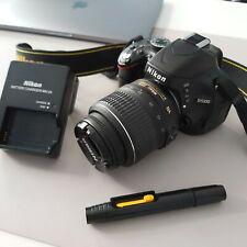 NIKON D5100 16.2MP SLR CAMERA (Kit with VR 18-55 mm Lens) ONLY 14,526 SHOTS