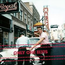 ELVIS PRESLEY 1956  8x10 Photo with POLICE OFFICER - MALCO THEATER MEMPHIS 03