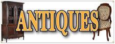 Antiques Banner Furniture Collectibles Coin Dealer Antique Shop Sign 18x48