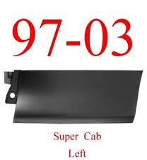 99 03 Ford Left Rear Outer Door Bottom Skin, Super Cab Trucks 1984-173