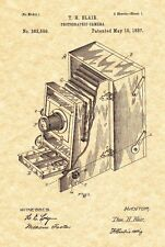 Patent Print - Antique Camera 1887 T. H. Blair Art Print - Ready To Be Framed!