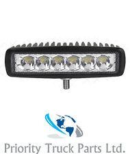 18W LED Work Light Spot Light Lamp Bar Off-Road SUV Jeep Truck ATV 4WD 12/24V