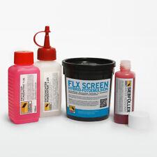 Chemie-Set für Siebdruck - Fotoemulsion + Entfetter + Entschichter + Siebfüller