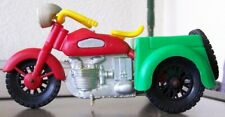 Vintage plastic TRIKE MOTORCYCLE Toy SIMMS INC AURORA ILL. converts 2 Motorcycle