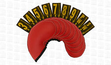 Club glove gloveskin 9pc iron cover set (3 au pw) - regular-rouge