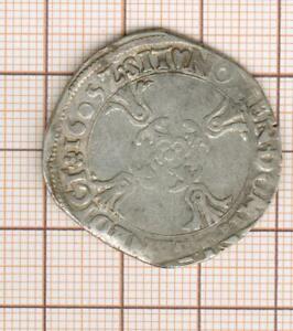 Henri IV 1/4 -  quart -  d'écu du Dauphiné 1605 Z Grenoble