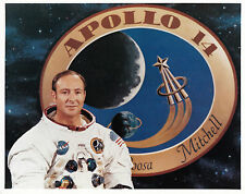 EDGAR MITCHELL APOLLO 14 COLOUR 10 X 8 PHOTOGRAPH