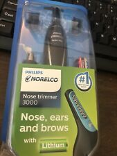 Philips Norelco Nosetrimmer 1700 Nose, Ear, Brows Hair Trimmer NT1700/49 NEW