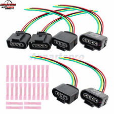 New listing 6 x Ignition Coil Connector Repair Kit Harness Plug Wiring For Audi A3 A4 A6 RS6(Fits: Golf)