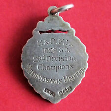 Hedinghams United 1929 - 1930 2nd DIVISION CHAMPIONS médaille argent