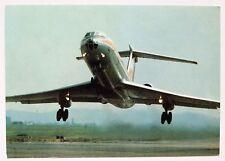 Interflug Tupolev TU-134 Postcard (Airline Issue)