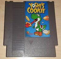 Yoshi's Cookie Nintendo NES Vintage classic original retro puzzle game cartridge