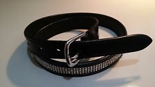 """Horse riding belt with 4 rows of crystals 34"""""""