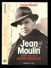 """Laure Moulin : Jean Moulin """" Biographie """" Editions Presses de la Cité"""