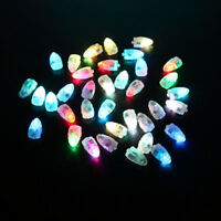 50Pc Small RGB LED Light Lamp For Paper Lantern Balloon Xmas Wedding Party Decor