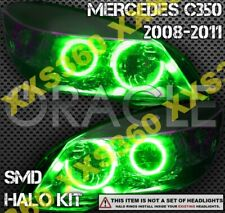 ORACLE Headlight HALO KIT RINGS for Mercedes Benz C-Class W204 08-11 GREEN LED